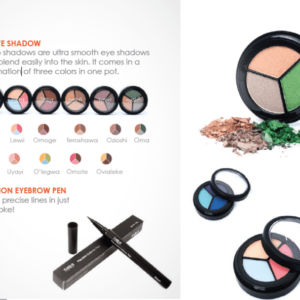 Tara trio eyeshadow