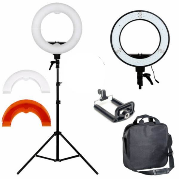 12 inches non rechargeable ring light